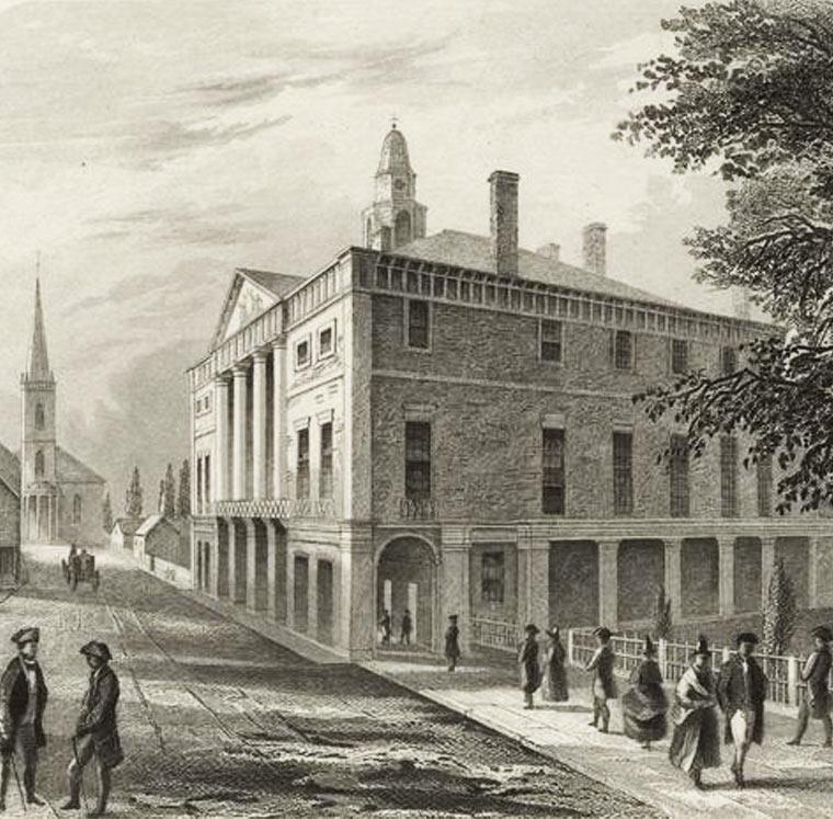 Federal Hall History Timeline