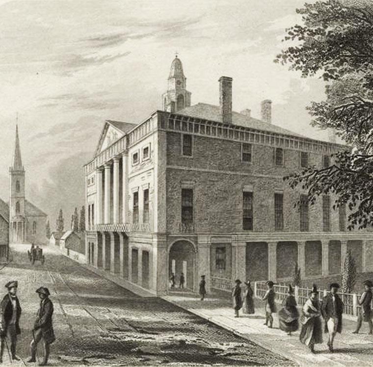 City Hall becomes Federal Hall