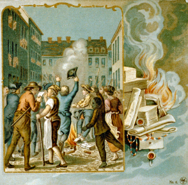 Stamp Act Congress protests